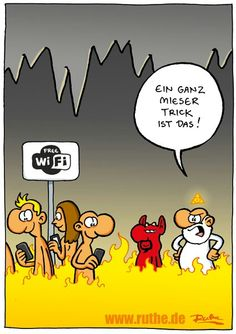 Sehr lustiger #Cartoon von Ralph #Ruthe.de #hwg