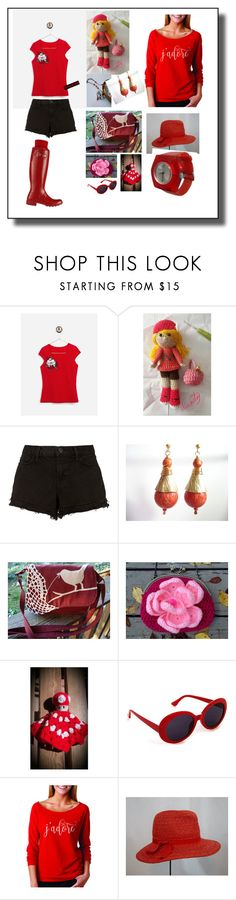 """Parisian day"" by nanitas23 ❤ liked on Polyvore featuring J Brand"