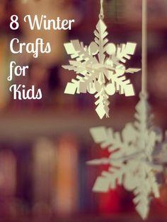 8 Winter Crafts for Kids – MomPrepares