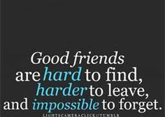 good friends are hard to find quote - Bing Images