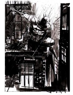 Sean Gordon Murphy Exclusively For Two Years On Two Batman Comics From DC Comics Superman, Batman Hero, Im Batman, Illustration Batman, Ghost Comic, Comic Style Art, Graphic Novel Art, Dc Comics Heroes, Alone In The Dark
