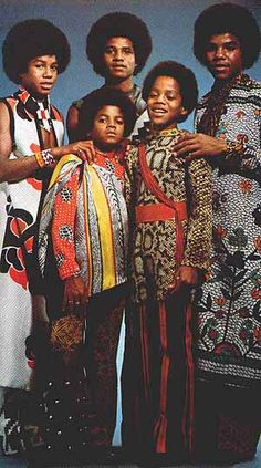 the 70's( the Jackson 5) i had a big crush on Michael :) and Tito