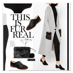 """""""black and grey"""" by paculi ❤ liked on Polyvore featuring Topshop, MANGO, Warehouse and nastydress"""