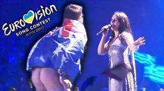 Показал жопу в прямом эфире на Евровидении 2017 ЖЕСТЬ