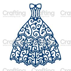 Tattered Lace Dies - Oscar Gown