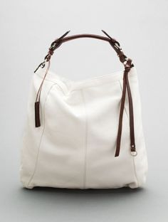 This rocks for a white purse.