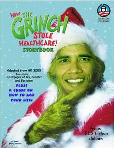 RE-ELECTED GRINCHBAMA COULD STEAL NEXT 4 CHRISTMASES, SAY ECONOMIC EXPERTS