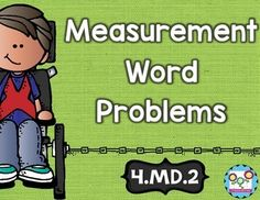 Measurement Word Problems Math Tasks and Exit Tickets - Your 4th grade classroom or homeschool students are going to LOVE this 23 page resource! With purchase you get 5 math tasks for cooperative learning, 5 exit tickets for individual assessment, and I can statements. These are great for homework, math centers or stations, and more! Click through to see how this will help your students use the four operations to solve word problems involving distances, time, liquid volumes, & more! 4.MD.2 $