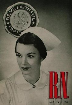 Nursing Cap...my Mom trained and capped...Kings County Hospital NYC 1937