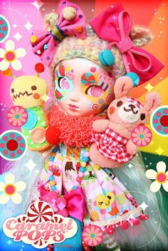 Mika The Candy Puppet Princess by ♥ Caramelaw ♥, via Flickr