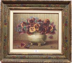 ernest filliard   Ernest Filliard (1868-1933), aquarel, stilleven