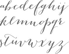 MyFonts: Cursive script typefaces {Best collection of fonts I've ever seen}