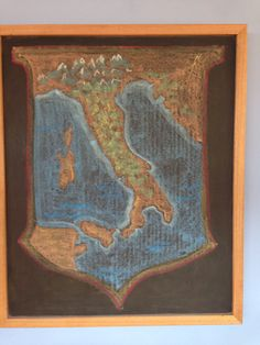 map of Italy for Rome I Blackboard Drawing, Chalkboard Drawings, Italy Map, Sixth Grade, Blackboards, Rome, School, Painting, Art