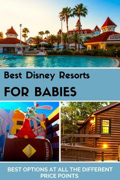 Best Disney World resort for Babies in each resort category!
