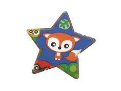Applikation Stern kleiner Fuchs Knieflicken von Silwarin auf DaWanda.com