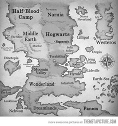 Great places to visit - not sure I want to live in any of them (if I have to run, fight, or use magic, I am dead).