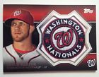 2013 Topps BRYCE HARPER Manufactured Commemorative Patch WASHINGTON NATIONALS
