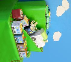 Image Detail for - Colorful Train Birthday Party   Blowout Party, making parties fabulous ...