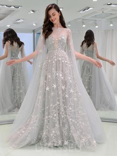 dresses evening elegant & dresses evening ` dresses evening long ` dresses evening short ` dresses evening cocktail ` dresses evening elegant ` dresses evening 2019 ` dresses evening gowns ` dresses evening to wear to a wedding Grey Evening Dresses, Grad Dresses Long, Evening Dresses With Sleeves, Prom Dresses 2018, Beautiful Prom Dresses, Cheap Prom Dresses, Elegant Dresses, Pretty Dresses, Sexy Dresses