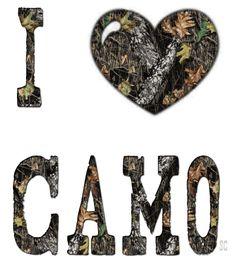 I LOVE CAMO!!! :)