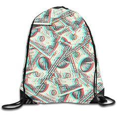 Clear Drawstring Backpack Singer Album Cover Dancing Bag Gym Travel Sack pack for Men Women