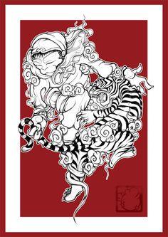 Monkey King tattoo