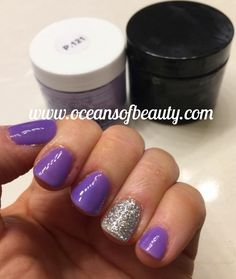 P.121 & Craft Glitter EZdip Gel Powder. DIY EZ Dip. No lamps needed, lasts 2-3 weeks! Salon Quality done right in your own home! For updates, customer pics, contests and much more please like us on Facebook https://www.facebook.com/EZ-DIP-NAILS-1523939111191370/ #ezdip #ezdipnails #diynails #naildesign #dippowder #gelnails #nailpolish #mani #manicure #dippowdernails
