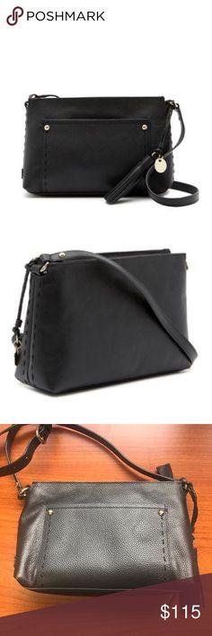 07a7bfc46f7 Cole Haan Payson Leather Black Crossbody Bag Cole Haan Payson Crossbody Bag  Genuine leather Adjustable shoulder · Black Cross Body ...