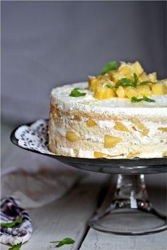 Mango Three Milk Cake