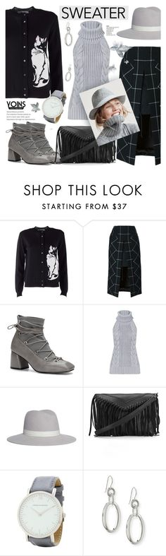 """Sweater weather - Yoins 5.2"" by cly88 ❤ liked on Polyvore featuring MSGM, Sacai, Janessa Leone, J.Crew, Larsson & Jennings and Ippolita"