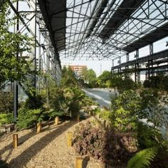 Foundries' Garden by ADH Doazan+Hirschberger « Landscape Architecture Platform France Area, Orchard Design, Urban Intervention, Covered Garden, Social Housing, Shade Structure, Contemporary Landscape, How To Level Ground, Garden Projects