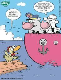 karikatürler sütaş ile ilgili görsel sonucu