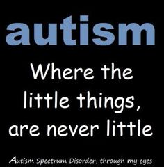 If your child does not have autism, you should hug the mom and dad of the parents of the children who autism and offer them your support with time, love, money, food, whatever you have extra ...  God is Good and we must share our blessings and bless others!