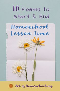 The start of a new homeschooling year or season is the perfect time to pick out new poems for starting and ending your lessons. This rhythm helps to create anchor points throughout your days with your children. Click through to find 10 poems for the homeschooling Mom so you can recite a verse to start and end your homeschool lesson time. Curriculum Planning, Homeschool Curriculum, Homeschooling, Classical Education, Waldorf Education, Simple Poems, Teaching Reading, Reading Resources, Kids Poems