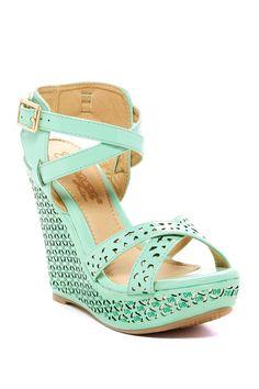Cree Wedge Sandal by Elegant Footwear on @HauteLook