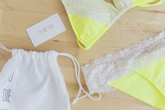 Lemon and Lace Bikinis
