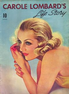 Carole Lombard's Life Story Front Cover
