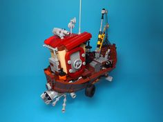 https://flic.kr/p/NRUE5c | Cloud Catcher | What can I say?.. I wanted to try this technic of corpus constuction a long time ago.At first I didn't know what I will get as a result. Sure, an art of  Ian Mcque made contribution for this MOC