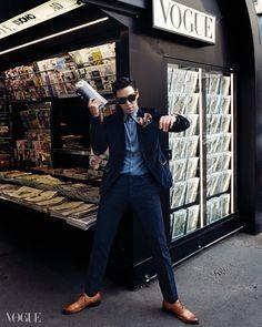 """ygfamilyy: """"T.O.P for Vogue (Nov) Magazine #1! """""""