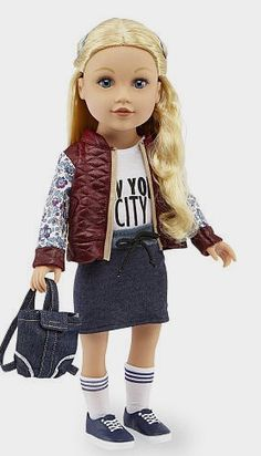 Journey Girls 18 inch Fashion Doll Meredith w// 15 pieces Mix Match doll clothing