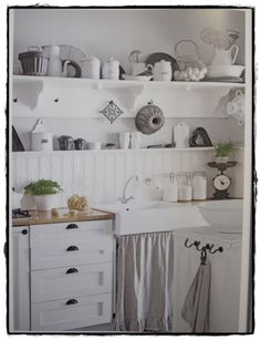 Shabby White Kitchen