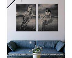 Run, δίπτυχος  πίνακας σε καμβά (multipanel) Flat Screen, Furniture, Home Decor, Blood Plasma, Decoration Home, Room Decor, Flatscreen, Home Furnishings, Plate Display