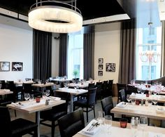 LEMAYMICHAUD   Il Matto   Architecture   Design   Hospitality   Eatery   Restaurant   Dining Room   Custom Lighting   Seating  
