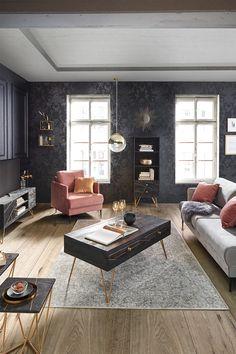 Holz 115/60/48 cm Home Design Decor, House Design, Interior Design, House Goals, Modern, Family Room, Lounges, Living Rooms, House Ideas