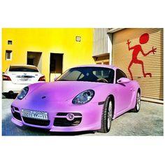 Pretty Purple Porsche