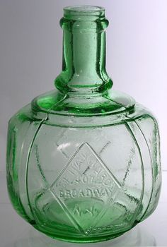 Antique bottle from 1871