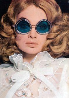 Jean Shrimpton for Vogue, 1968.