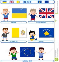 Illustration of characteristic - 5400923 Flags Europe, 9 Mai, Illustration Art, Playing Cards, Clip Art, Kids Rugs, Stock Photos, Costumes, Activities