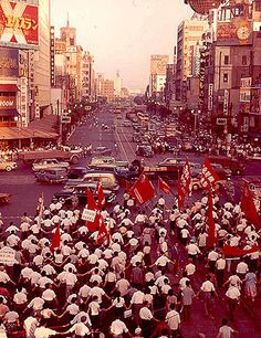 Demonstration in Tokyo, 1960