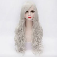 Silver Human Hair Wig Cheap Online Sale At Wholesale Prices | Sammydrees.com Page 15